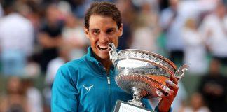 Rafa Nadal conquista su undécimo Roland Garros tras ganar a Thiem en tres sets. El tenista español se convierte en el primer hombre en la historia que vence once veces en el mismo Grand Slam.