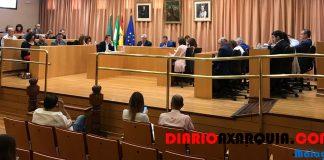 El debate sobre los presupuestos celebrado esta mañana de viernes en la capital de la Axarquía transcurrió entre la defensa que el Gobierno realizó de ellos y el rechazo del Grupo Popular.