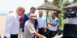Los socialistas reconocen la figura de los espeteros en un acto en Mijas.