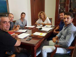 """La alcaldesa de Nerja agradece """"la buena sintonía de estas negociaciones""""."""