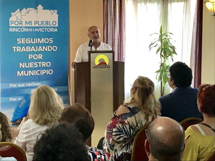 """""""Por mi pueblo"""" es un partido político creado por vecinos comprometidos con el municipio y sus vecinos, con un objetivo principal: la creación de empleo en Rincón de la Victoria."""