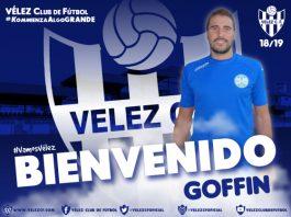 Destacar que Goffin ya estuvo bajo las órdenes de José Carlos Tello durante la temporada 2008/09 en su estancia en Antequera CF.