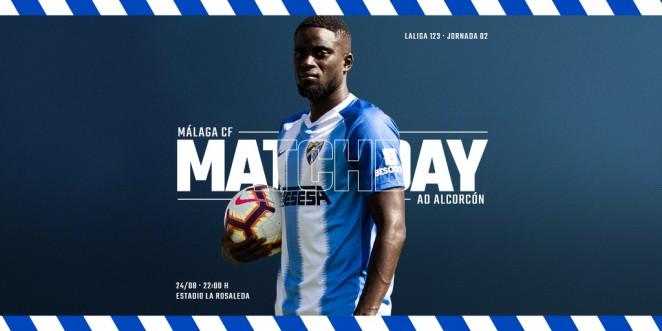 El Málaga CF recibe a la AD Alcorcón, en La Rosaleda, en la 2ª jornada de LaLiga 1|2|3