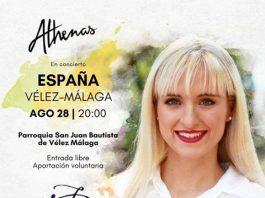 Es la primera vez que viene a España y comienza su tour en Vélez Málaga.
