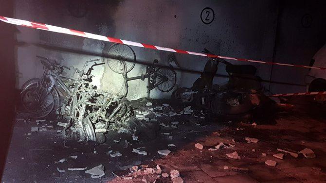 No hay heridos, solo daños materiales.