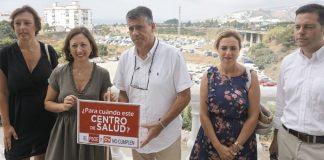 """""""El Gobierno andaluz """"está poniendo en riesgo la salud de los nerjeños"""", ha dicho la secretaria general del PP de Málaga, Patricia Navarro."""