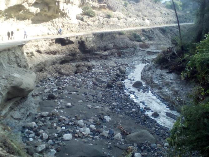 Continúan cortadas la vía que une Ardales y El Chorro, la de Teba-Campillos y la que sube hasta Bobastro