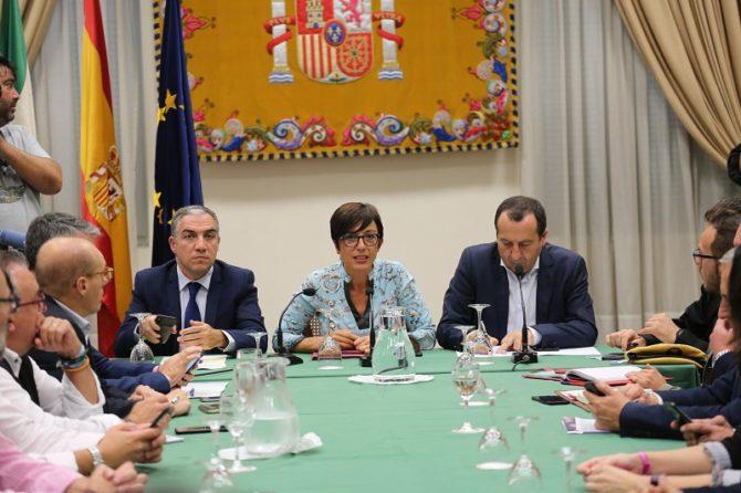 Los alcaldes de los municipios afectados han asistido a una reunión de coordinación con la Subdelegación del Gobierno, la Junta de Andalucía y la Diputación de Málaga para recopilar información sobre las incidencias y desperfectos con el fin de sustentar una posible declaración de zona catastrófica.