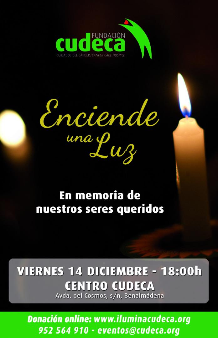 Si no puedes asistir pero quieres encender una luz en memoria de tu ser querido y ayudar a CUDECA puedes hacerlo a través de la web www.iluminacudeca.org.