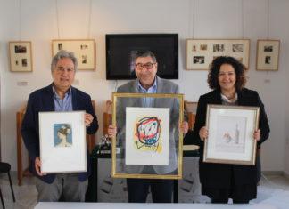 La cesión supone un total de 26 piezas entre las que destacan un Miró, obras de Gargallo y un conjunto de piezas de Xavier Valls, donadas por voluntad testamentaria por D. Pedro Calvente Rivero.
