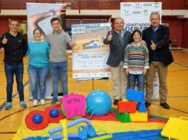 La creación de la escuela se enmarca en el programa 'Adaptados al deporte', puesto en marcha por la Diputación con el patrocinio de Fundación Unicaja.