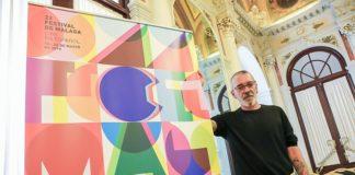 """, el jurado ha elegido por unanimidad el del diseñador gráfico de Lérida Antonio Pontí, """"Lente divergente"""", que juega con la abstracción, el color, la geometría y la luz."""