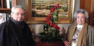 El veleño Juan Fernández Olmo dedicó el reconocimiento de la Federación Provincial de Asociaciones de Mayores de Málaga a su esposa Yoya, fallecida recientemente.