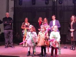 Los más pequeños también han participado en las fiestas locales de Valle Niza. Imagen de la Elección de la Reina Infantil.