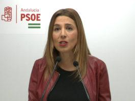 La secretaria de Políticas Migratorias y Andaluces en el Exterior, Beatriz Rubiño.