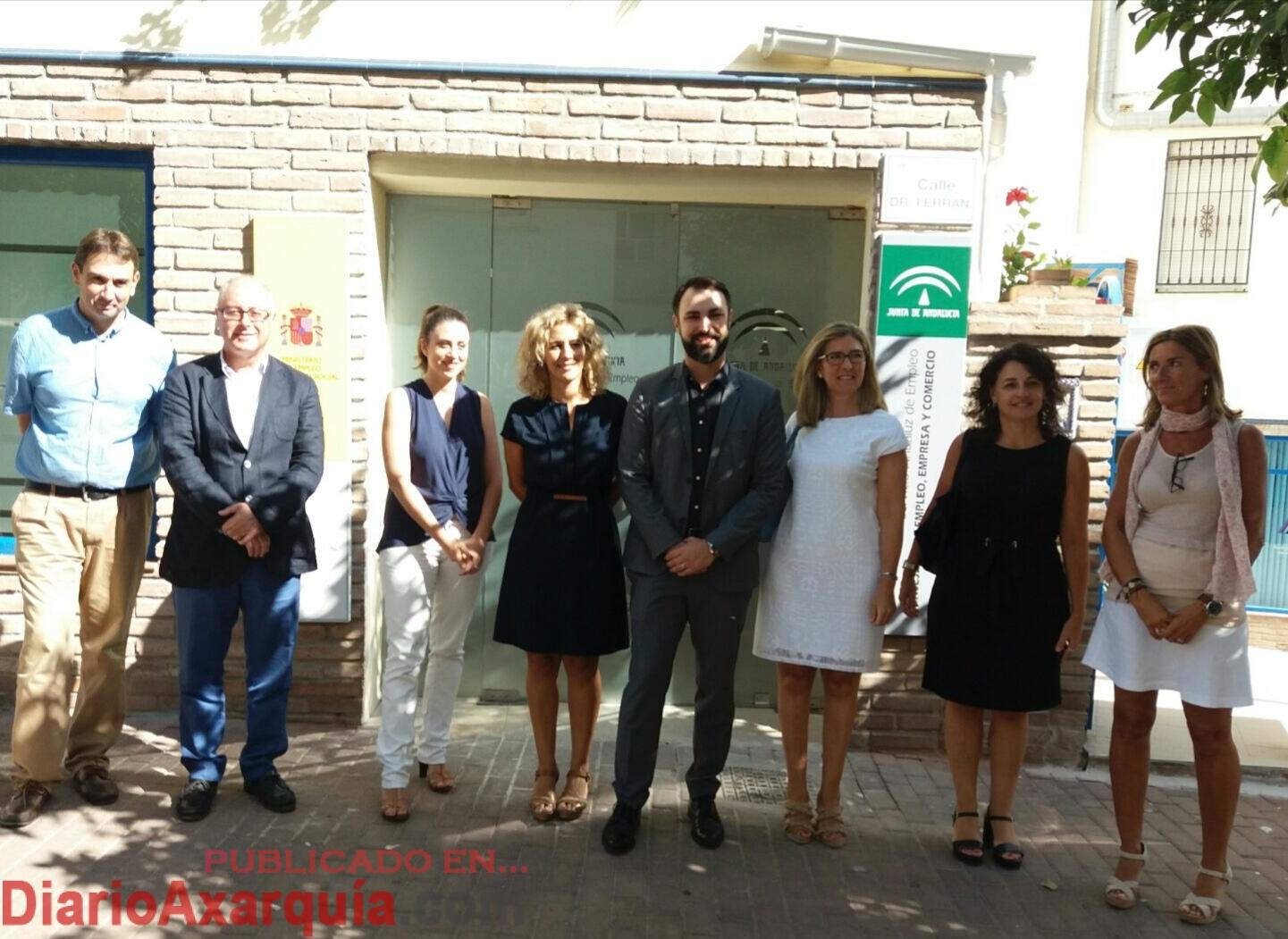 Nerja abre su nueva oficina del sae en la que la junta ha for Oficina del sae